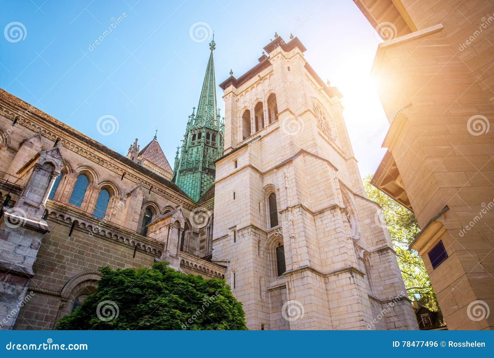 Собор в городе Женевы