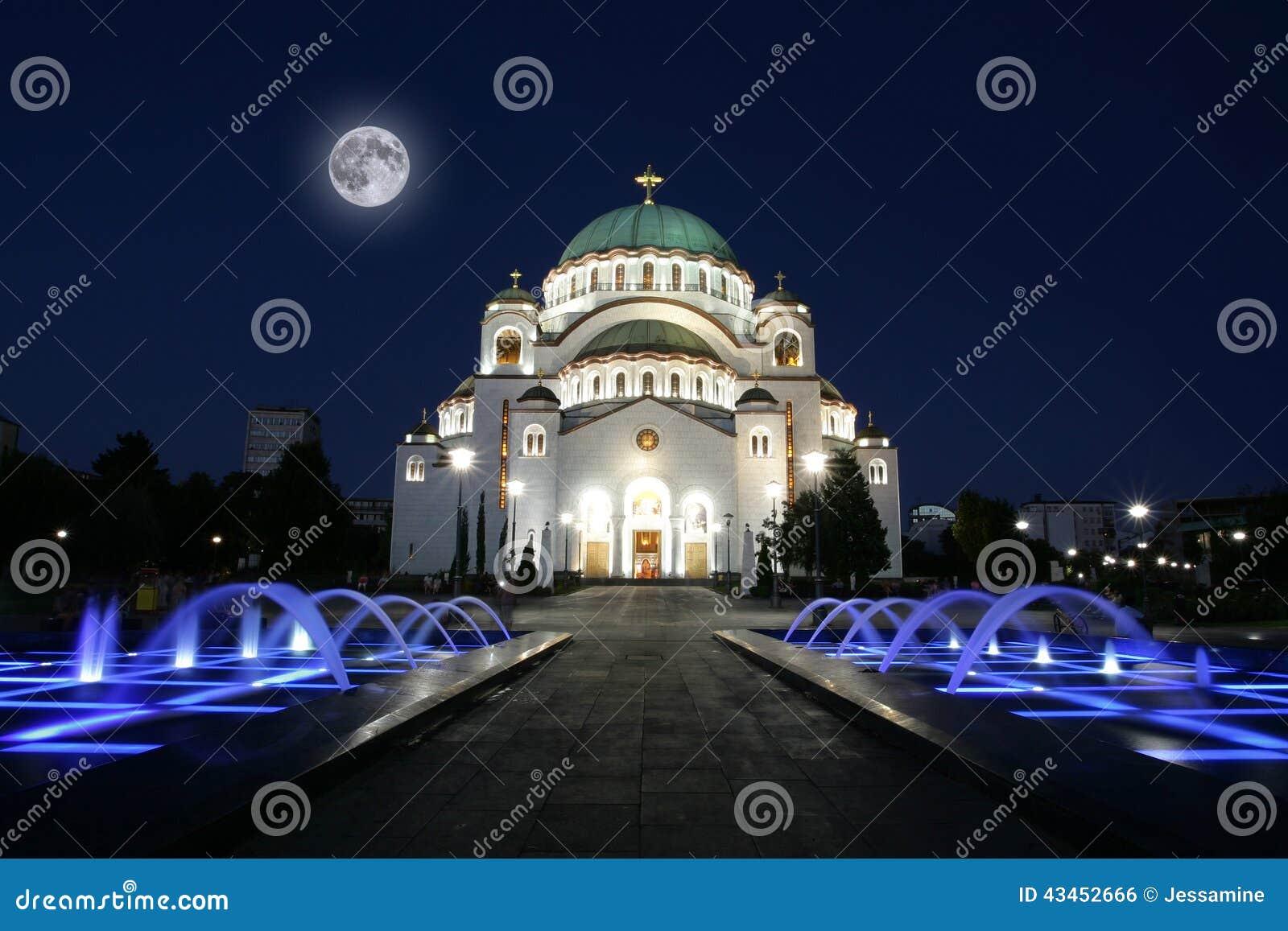 Собор Святого Sava в Белграде, Сербии
