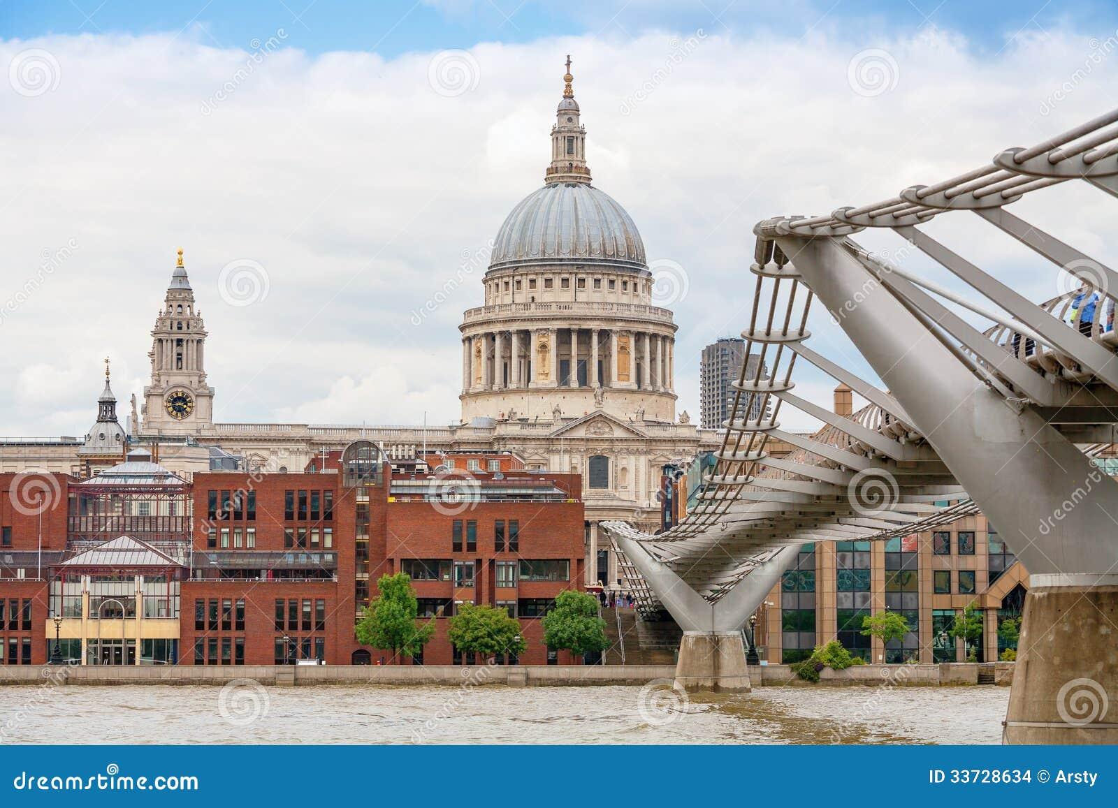 Собор St Paul. Лондон, Великобритания
