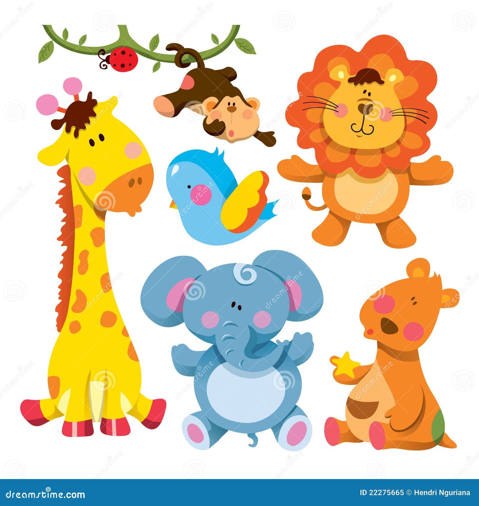 собрание животных милое
