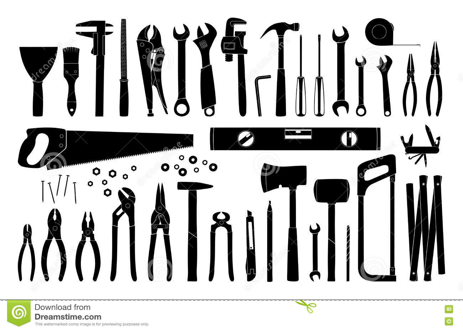 Собрание значка инструмента
