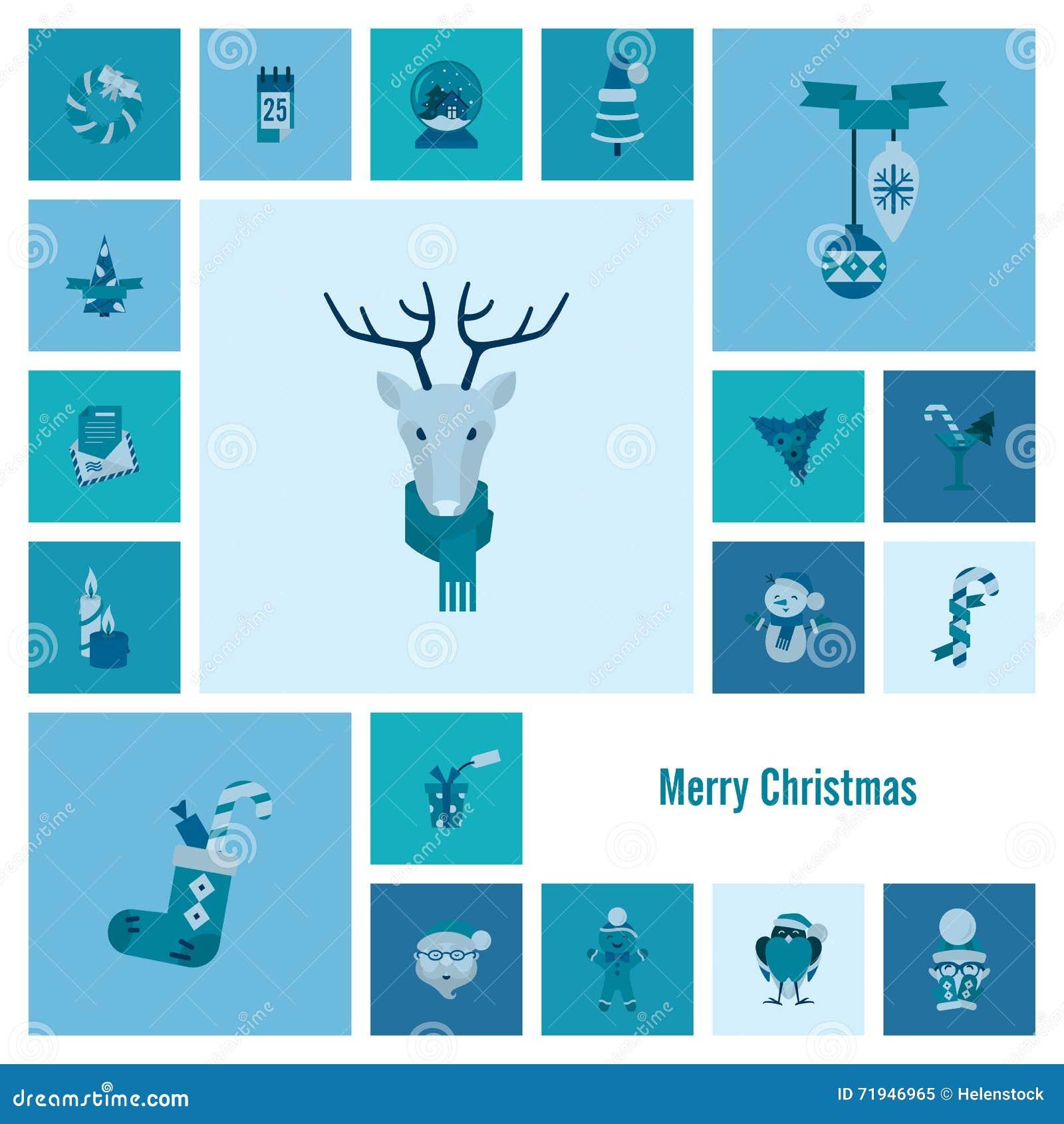 Собрание икон рождества и зимы
