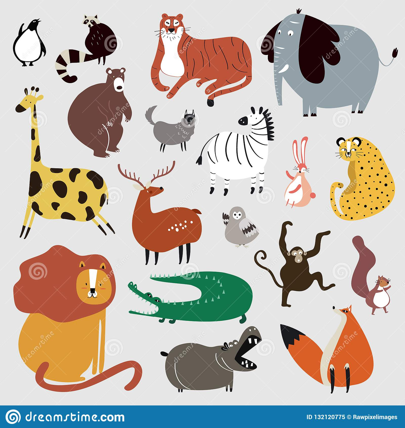Картинки в кореле животные