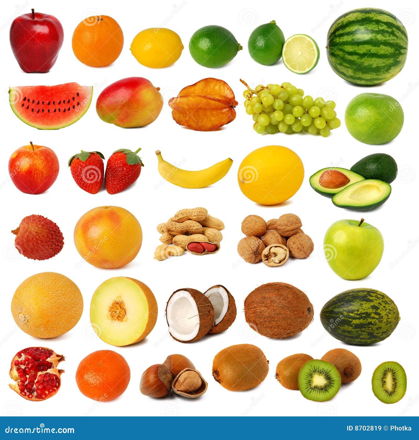 собрание fruits гайки