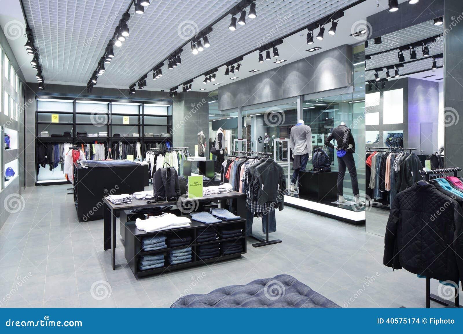 Совершенно новый интерьер магазина ткани