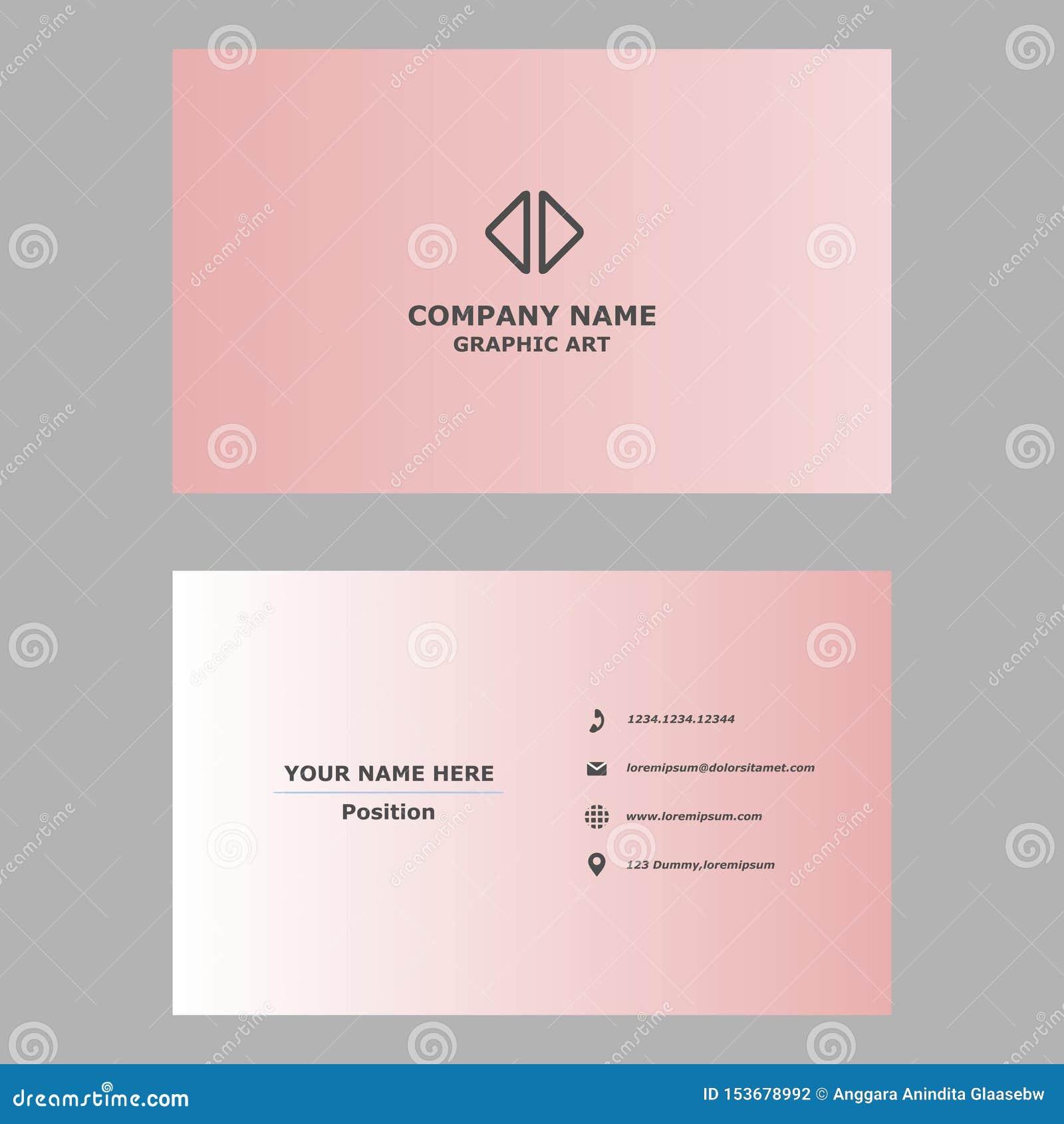 Современная визитная карточка чистый шаблон дизайна для профессионального, личного и компании
