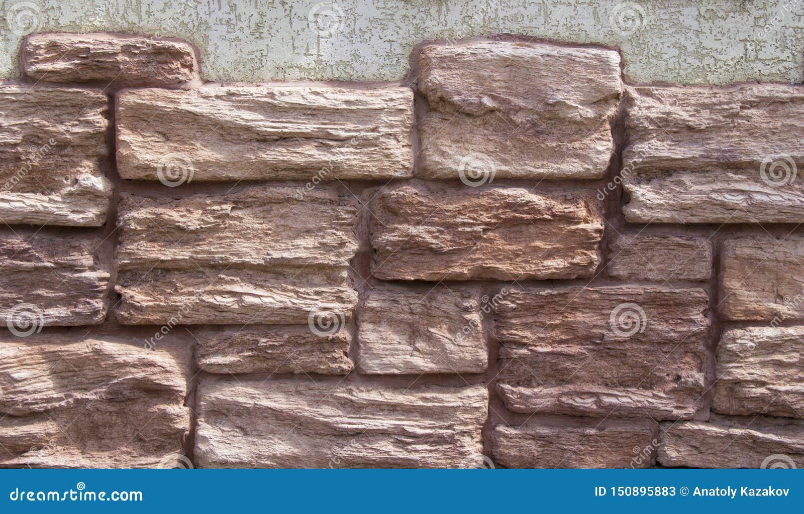 Современная грубая стена текстуры кирпича