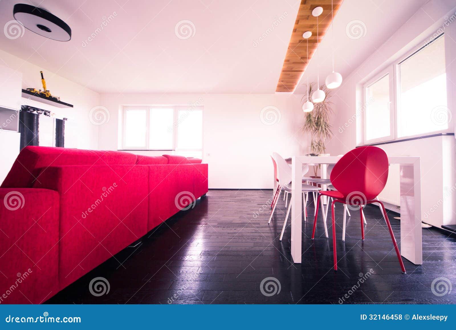 Современная квартира - живущая комната
