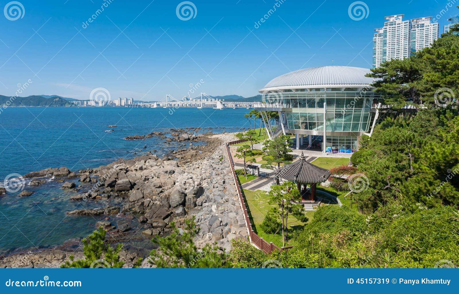 Современная Южная Корея apec Пусана имени музея