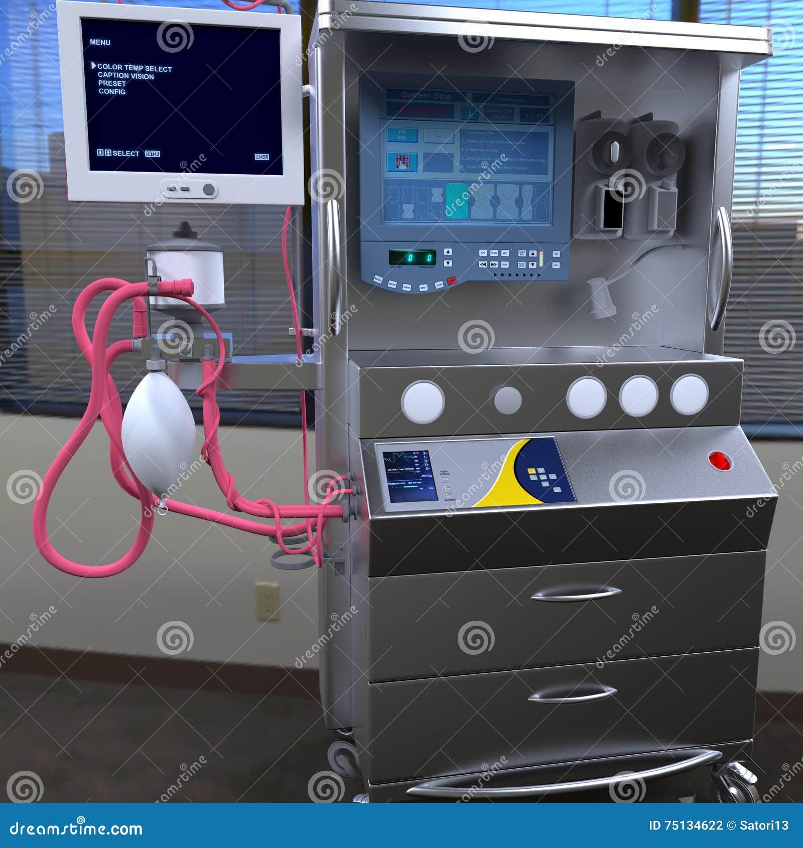Современное оборудование больницы