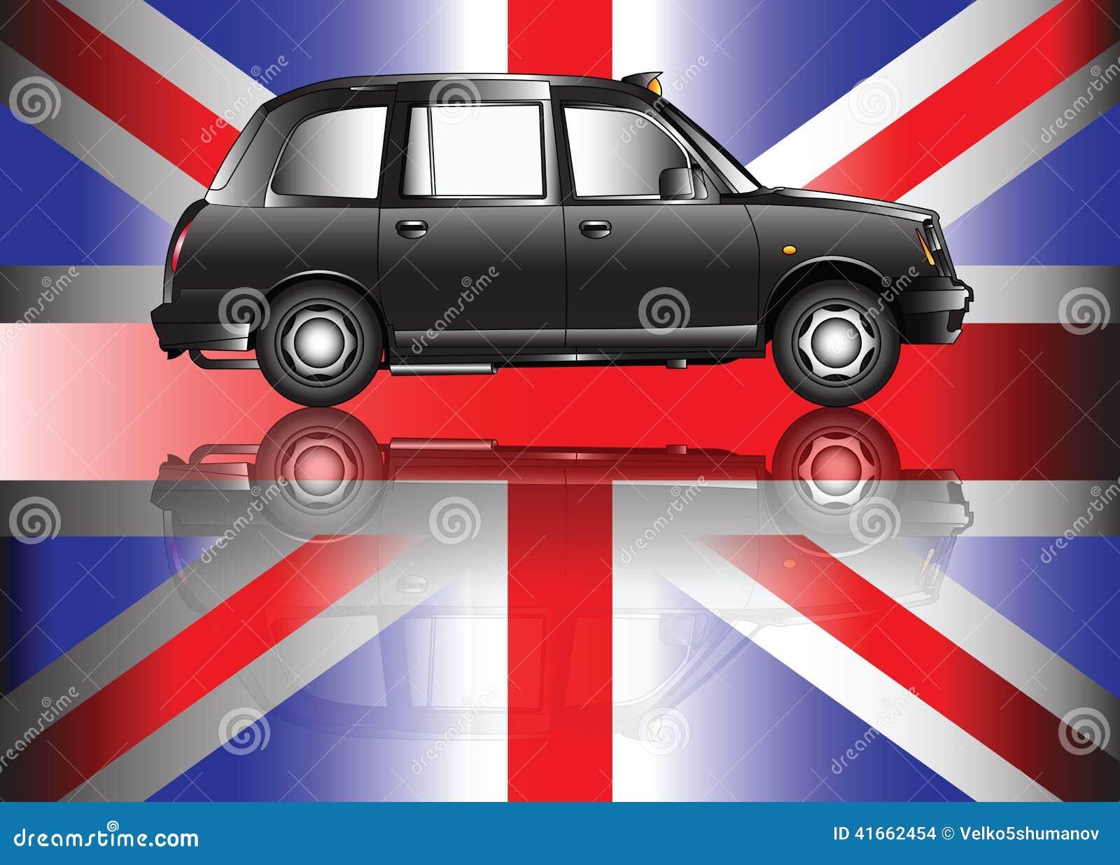 Современное такси Лондона