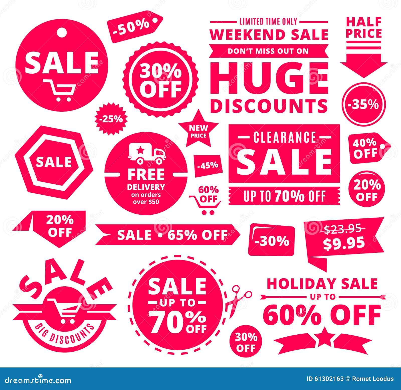Современные бирки, значки и ленты продажи скидки