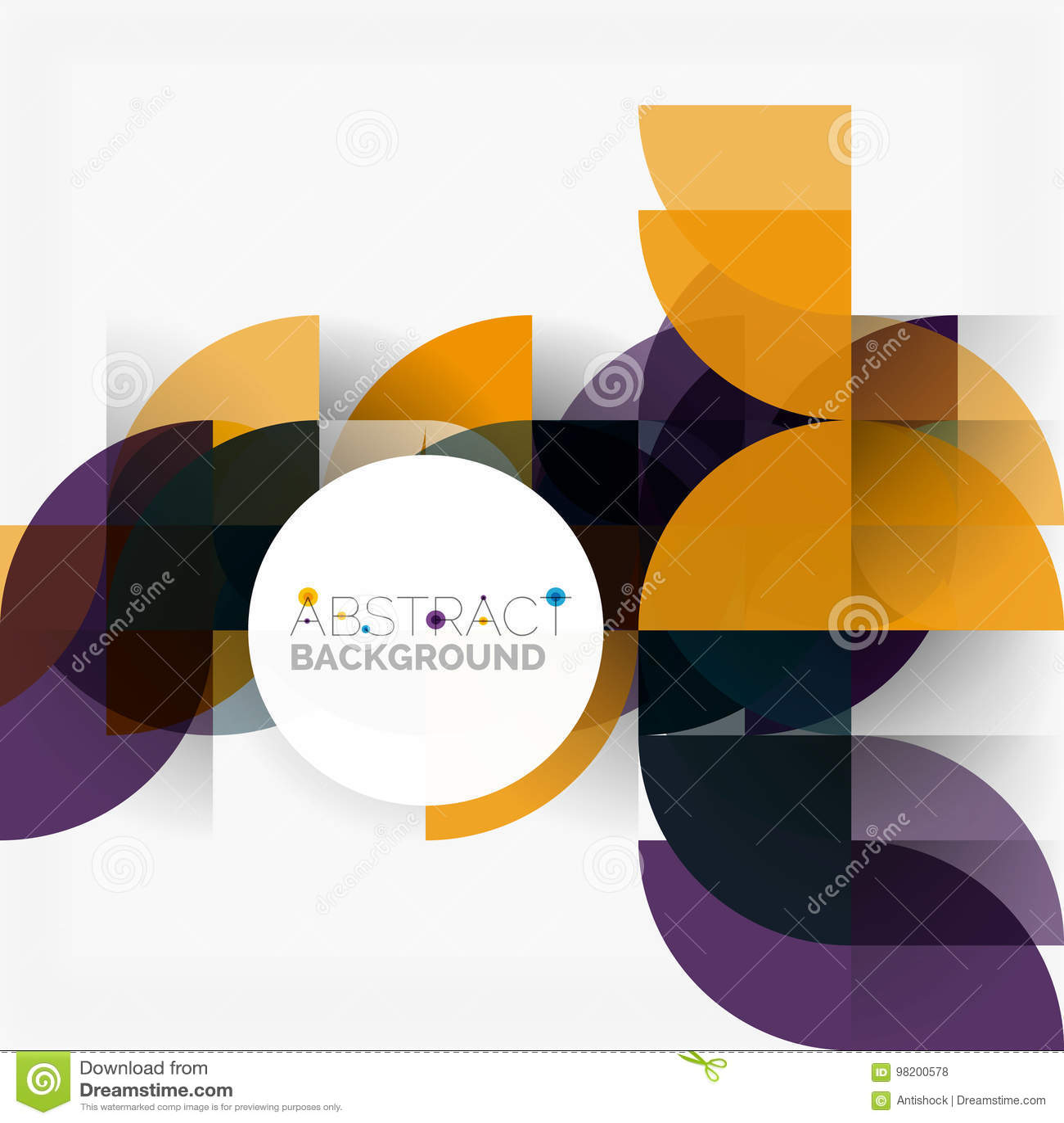Download Современные геометрические абстрактные круги предпосылки Иллюстрация вектора - иллюстрации насчитывающей знамена, геометрия: 98200578
