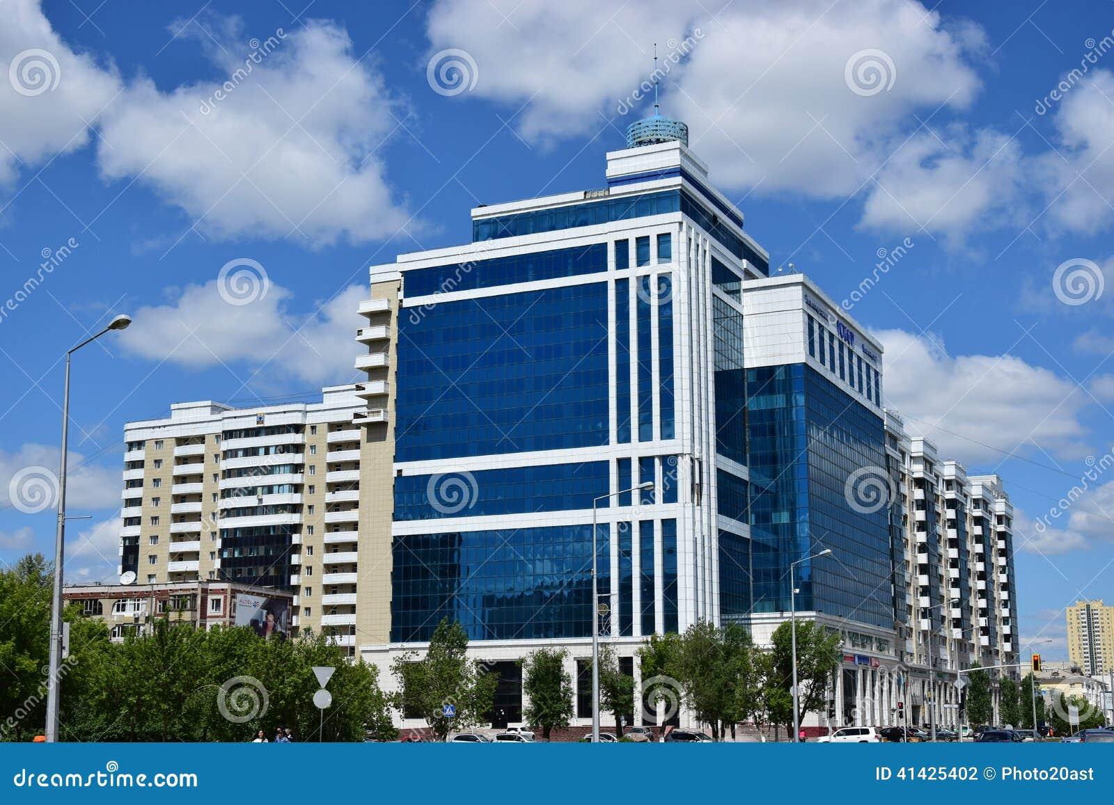 Современный деловый центр в Астане