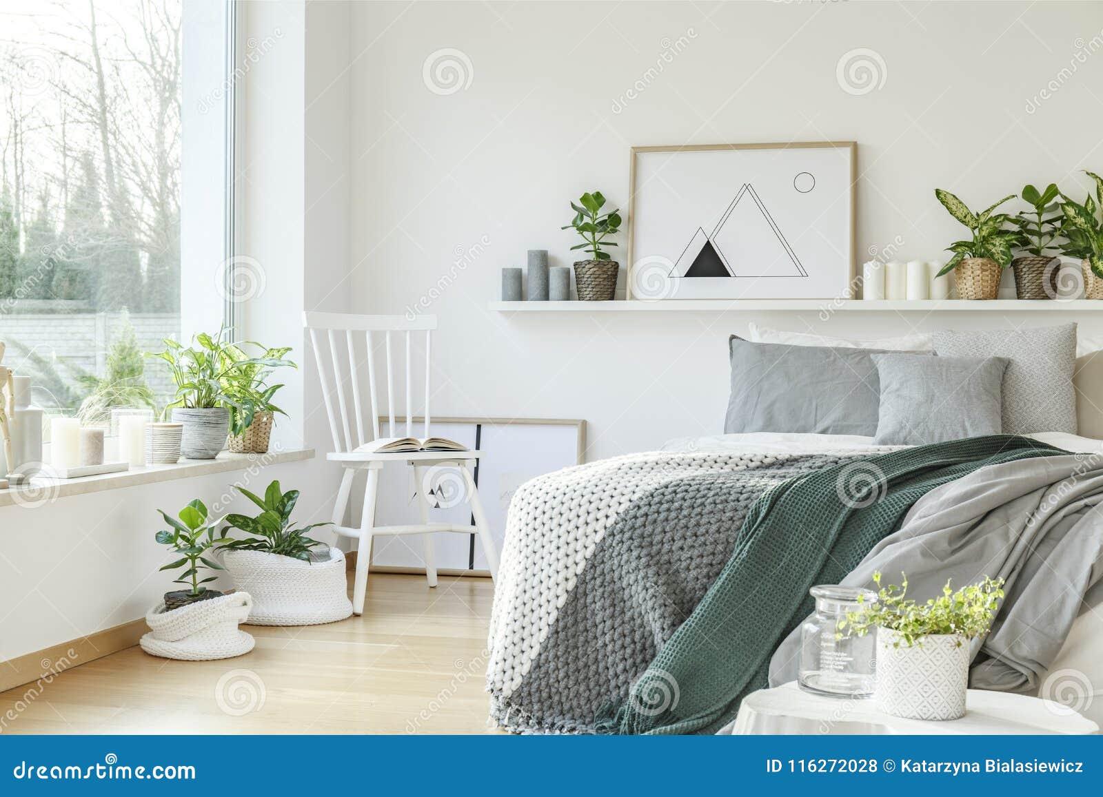 Современный интерьер спальни гостиницы