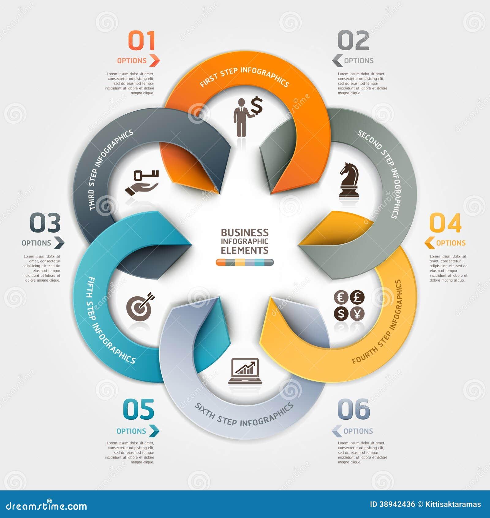 Infographic design styles