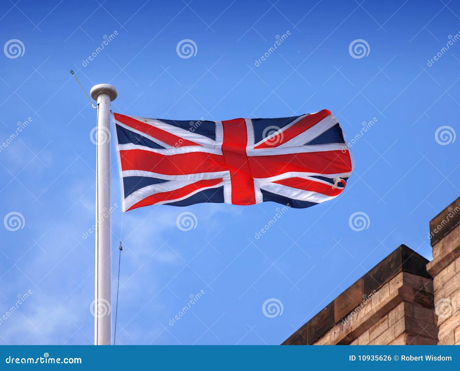 соединение jack флага Британии большое
