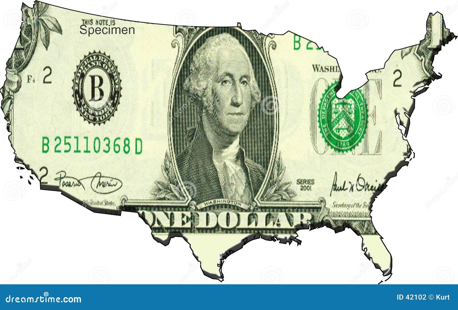 соединенные положения доллара