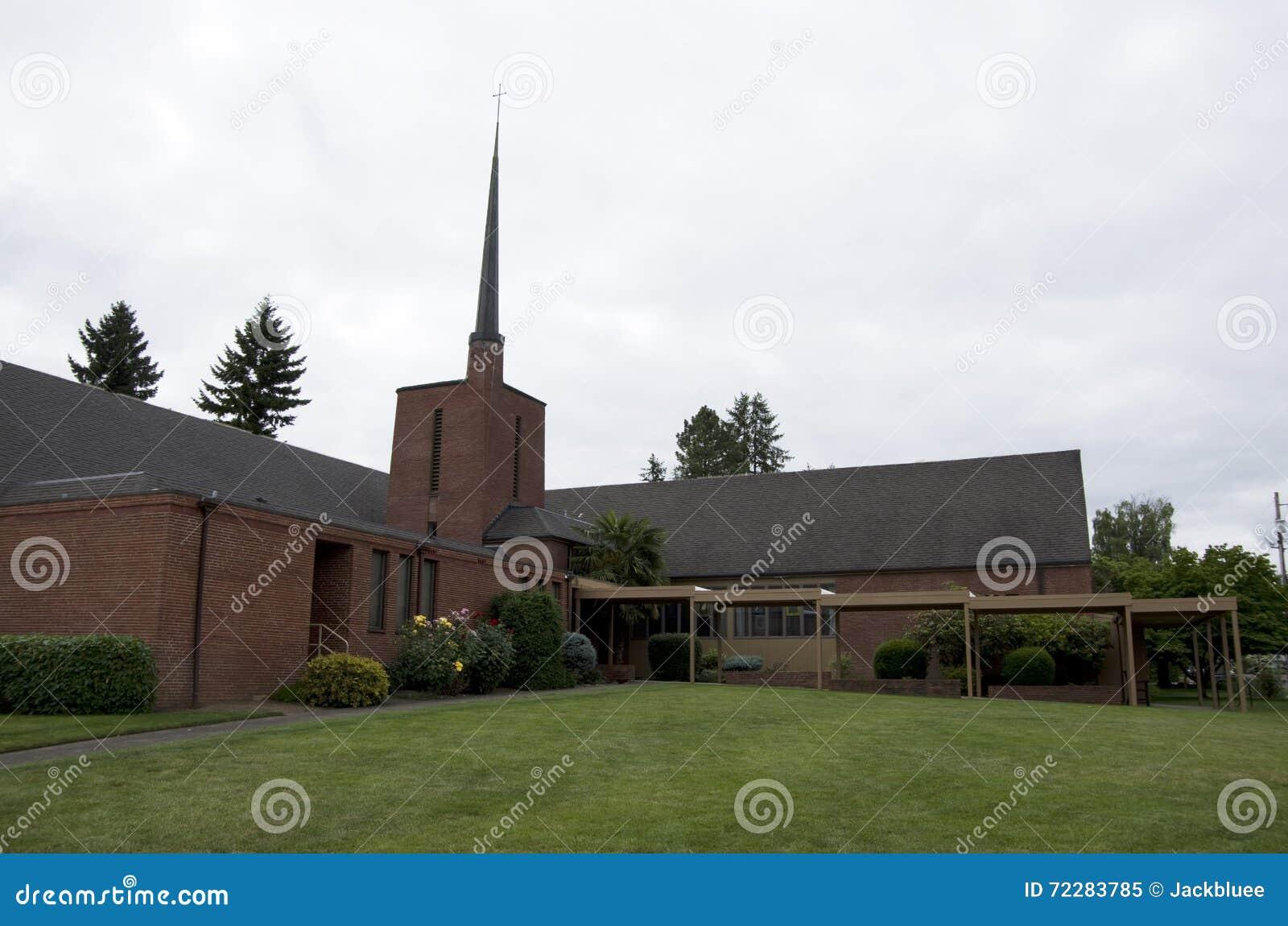 Download соединенный Methodist церков Редакционное Изображение - изображение насчитывающей христианка, орегон: 72283785