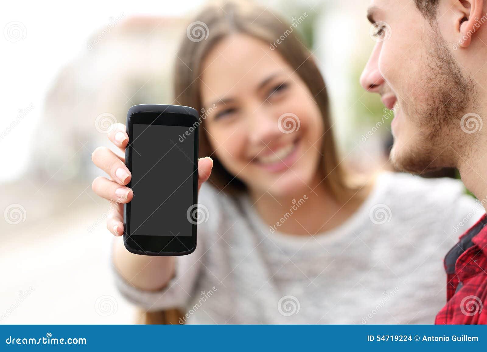 Соедините показывать apps в пустом умном экране телефона