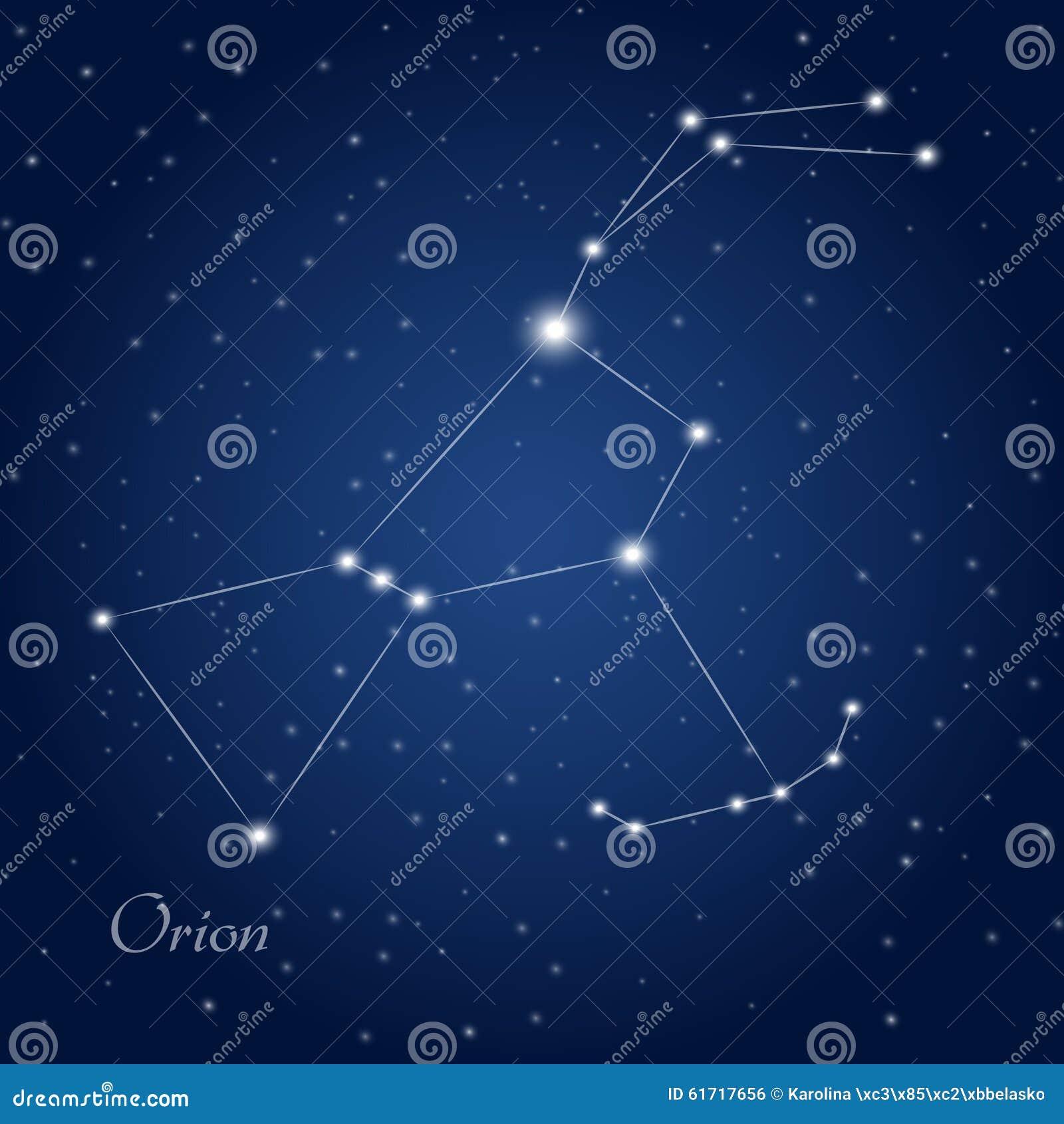 лучших созвездие орион на небе судьбы представляет