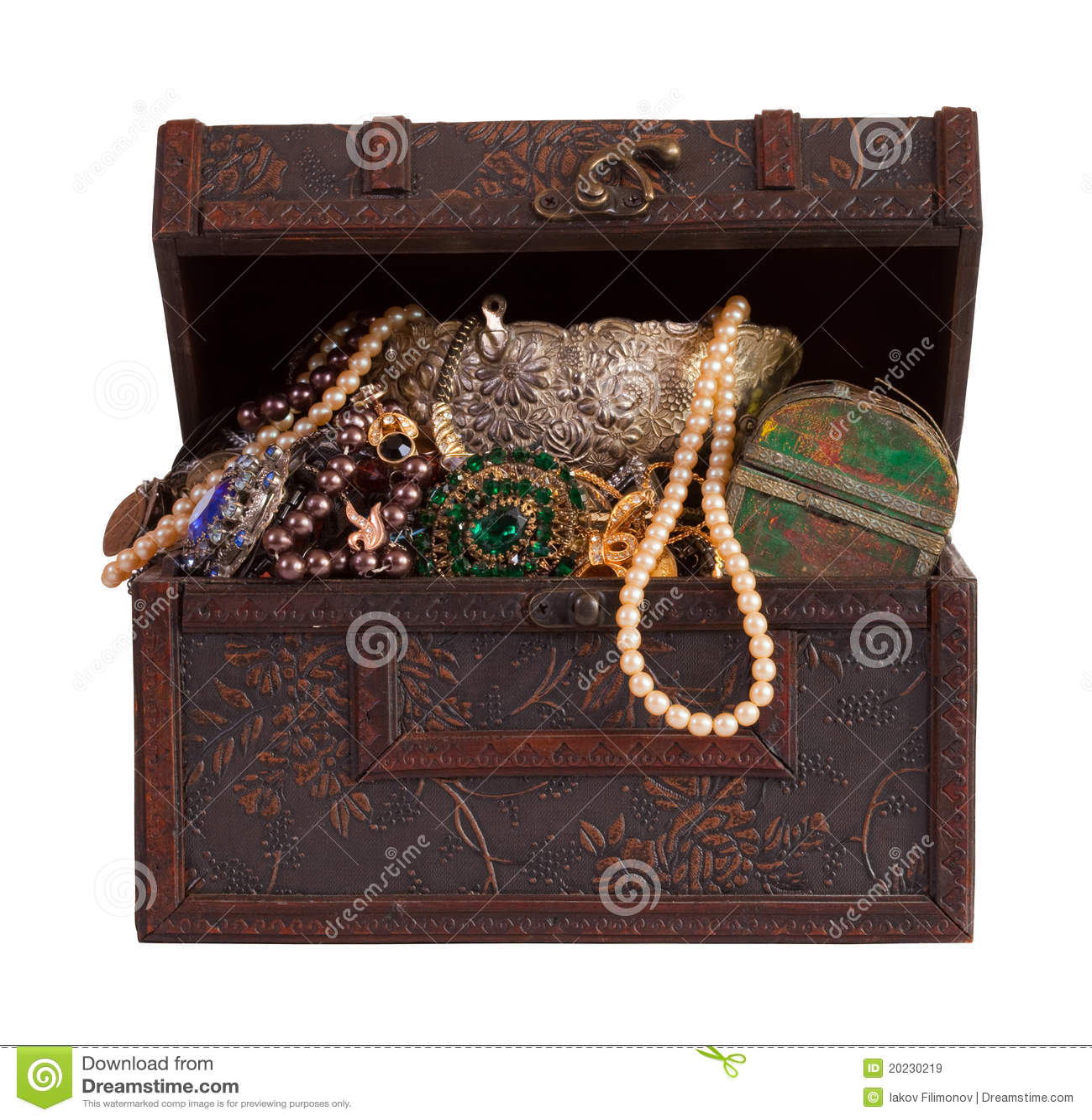 сокровище jewellery комода