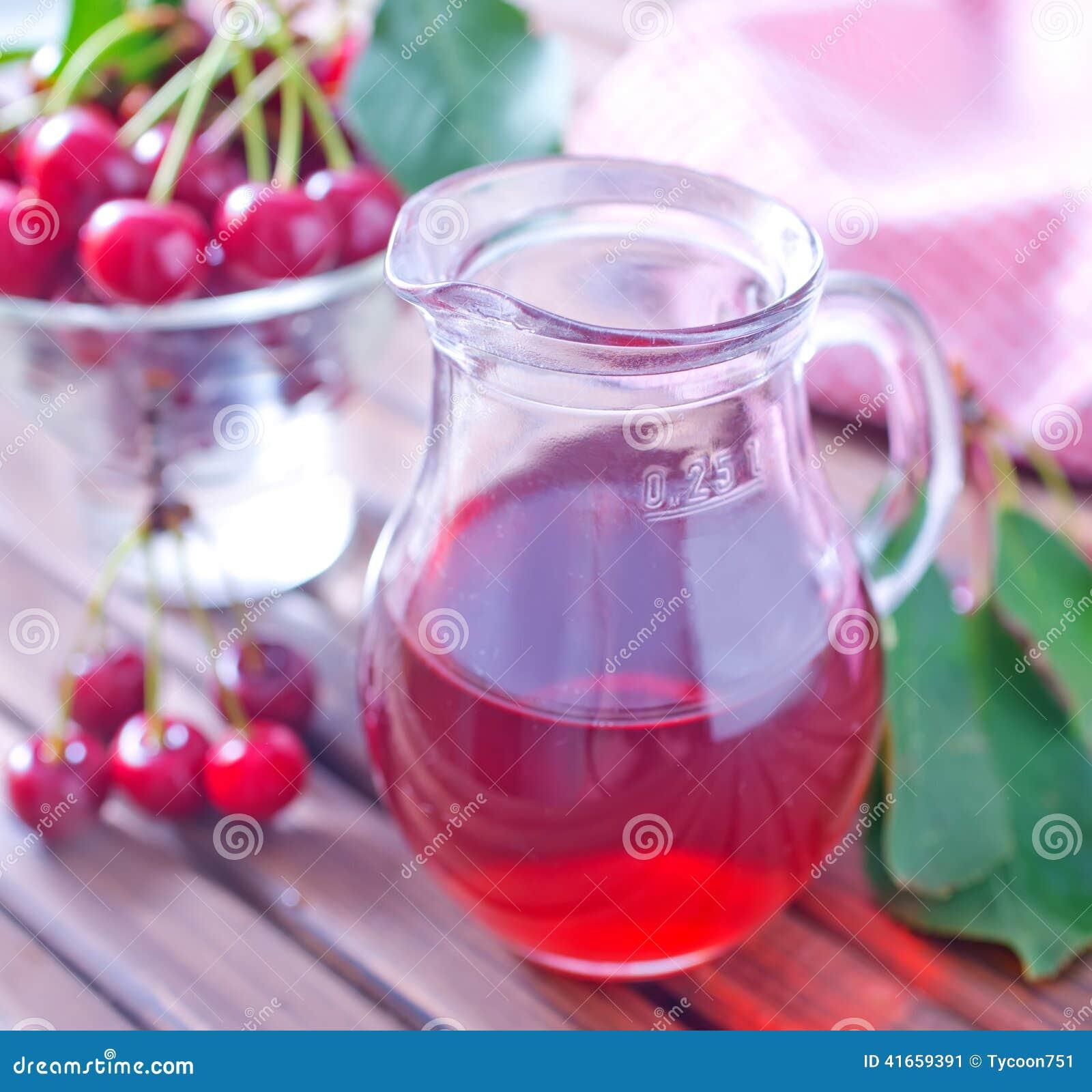 Сок вишни