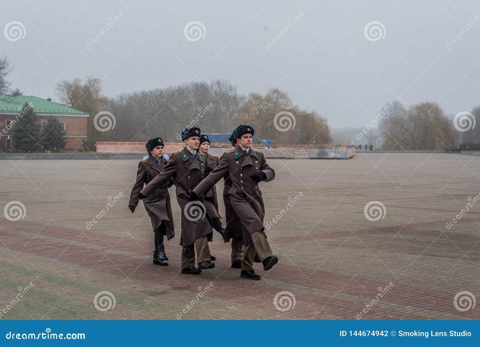 Солдаты в Бресте Беларуси