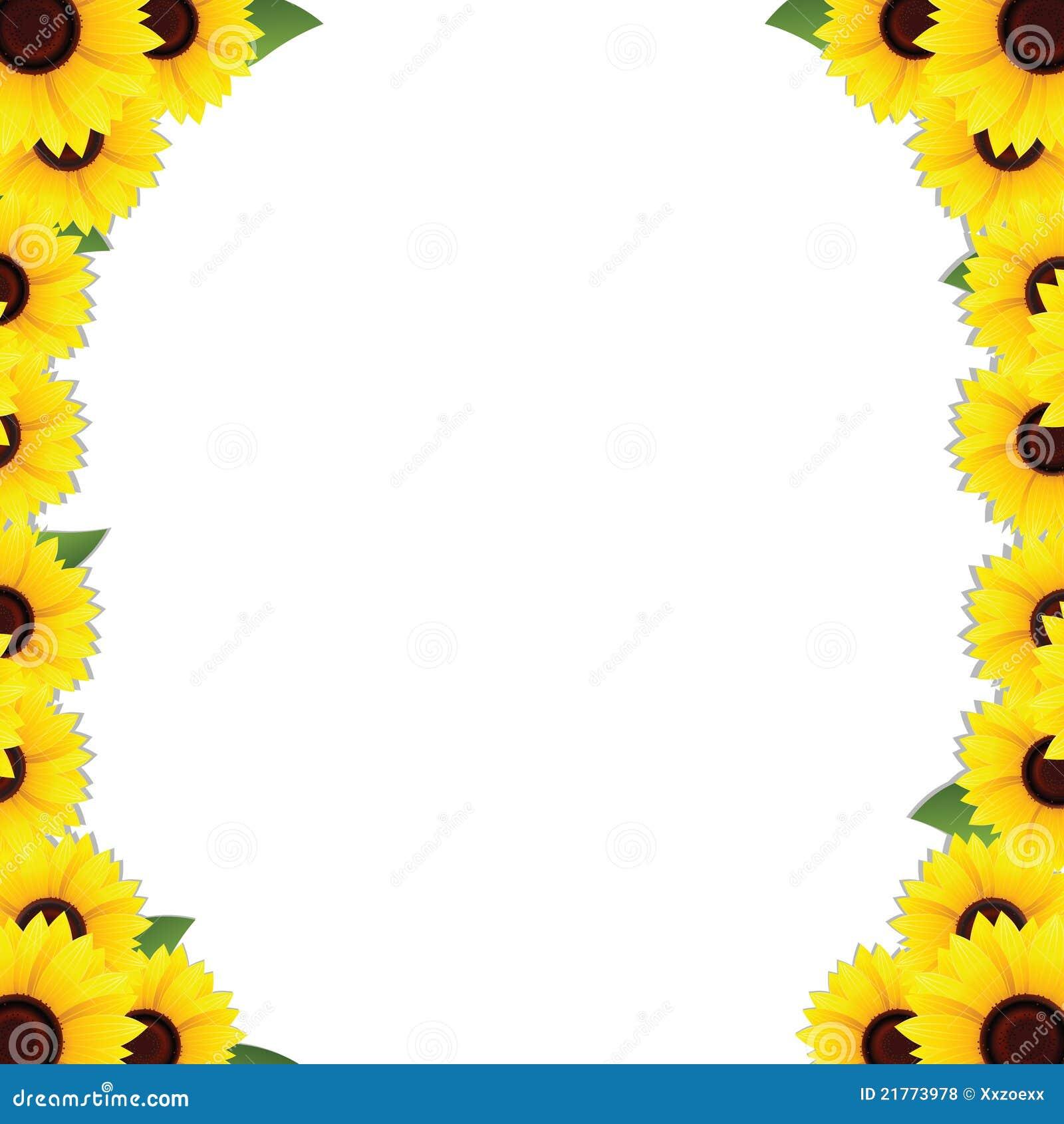 солнцецветы рамки границ