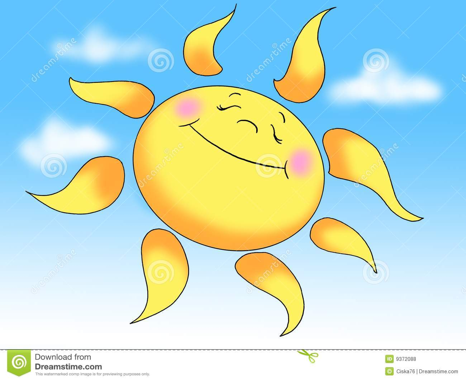 солнце лета