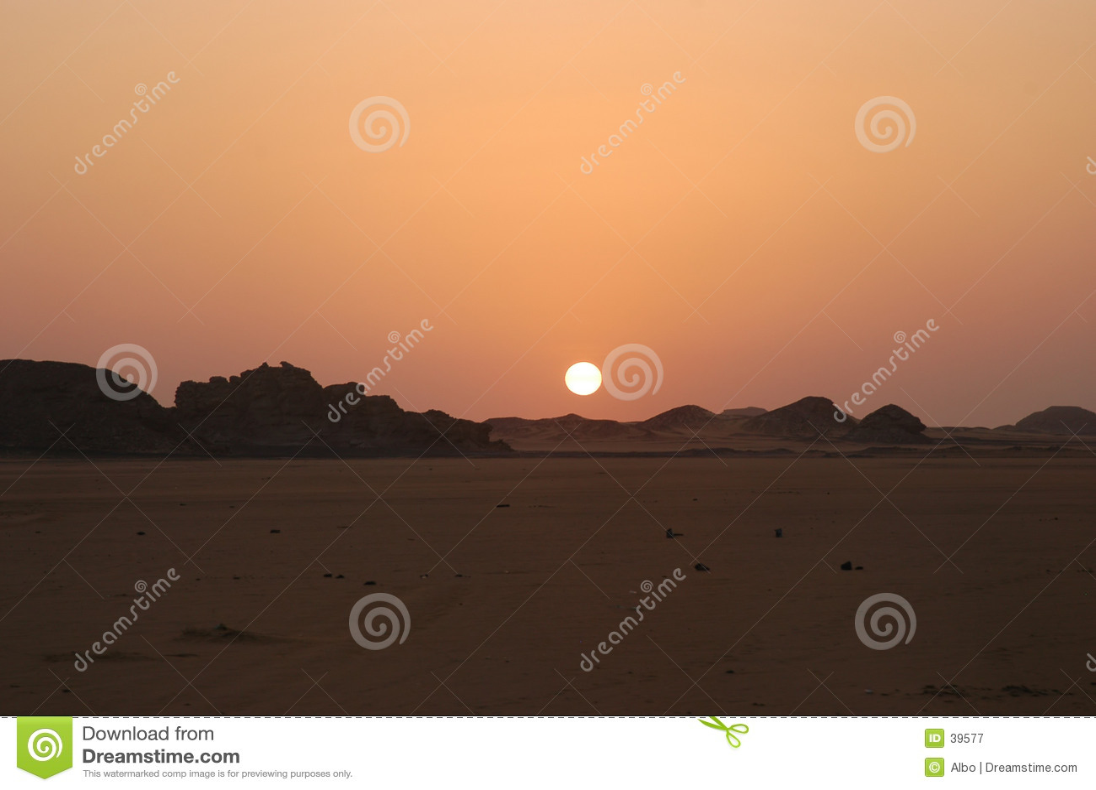 солнце пустыни