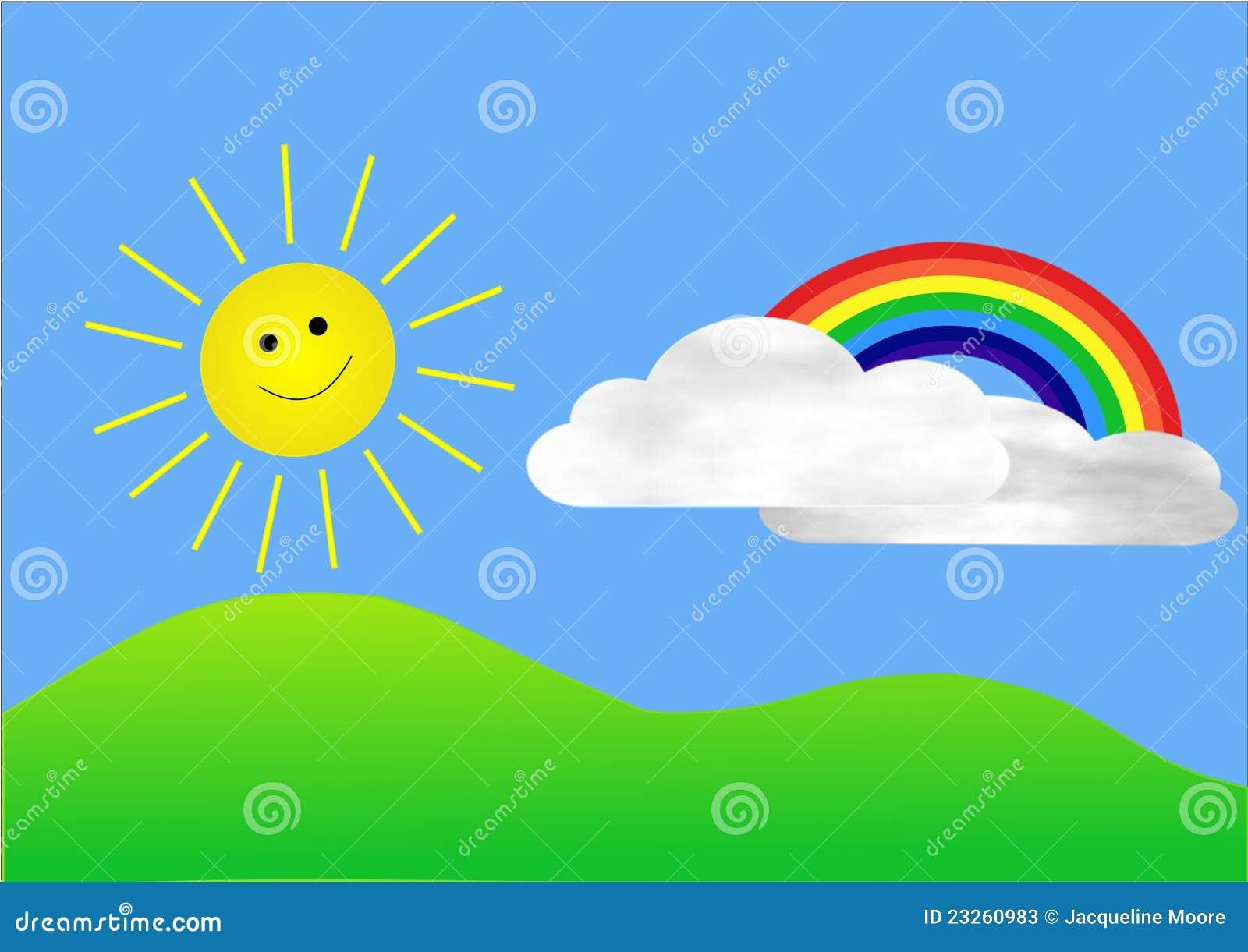 этого многофункционального картинка тучка солнце радуга птичка дверях шкафа