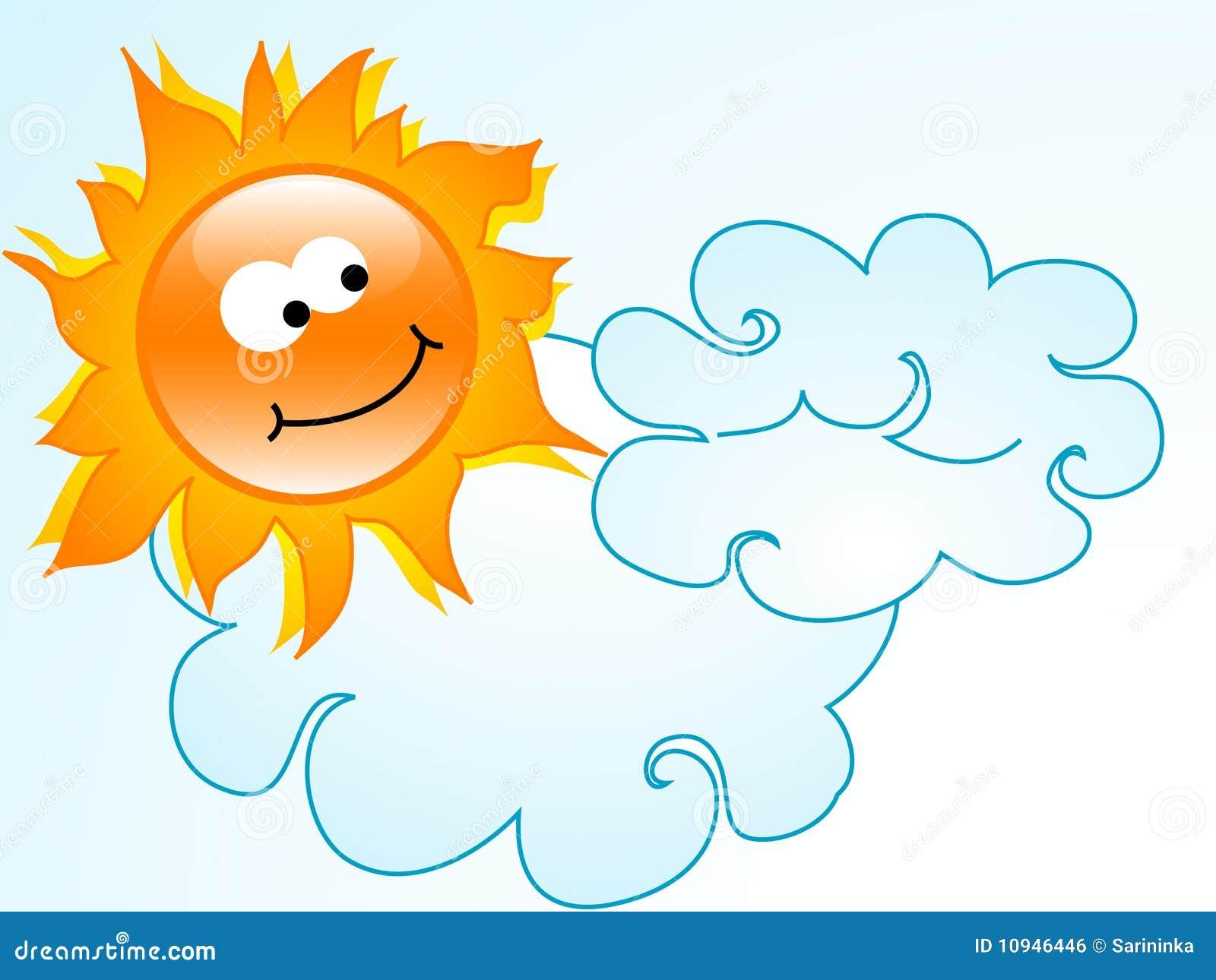 солнце шаржа