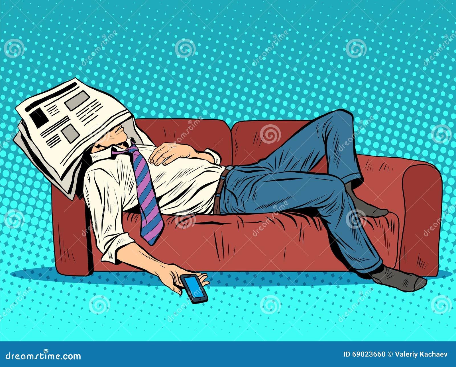 Рисуем спящих людей
