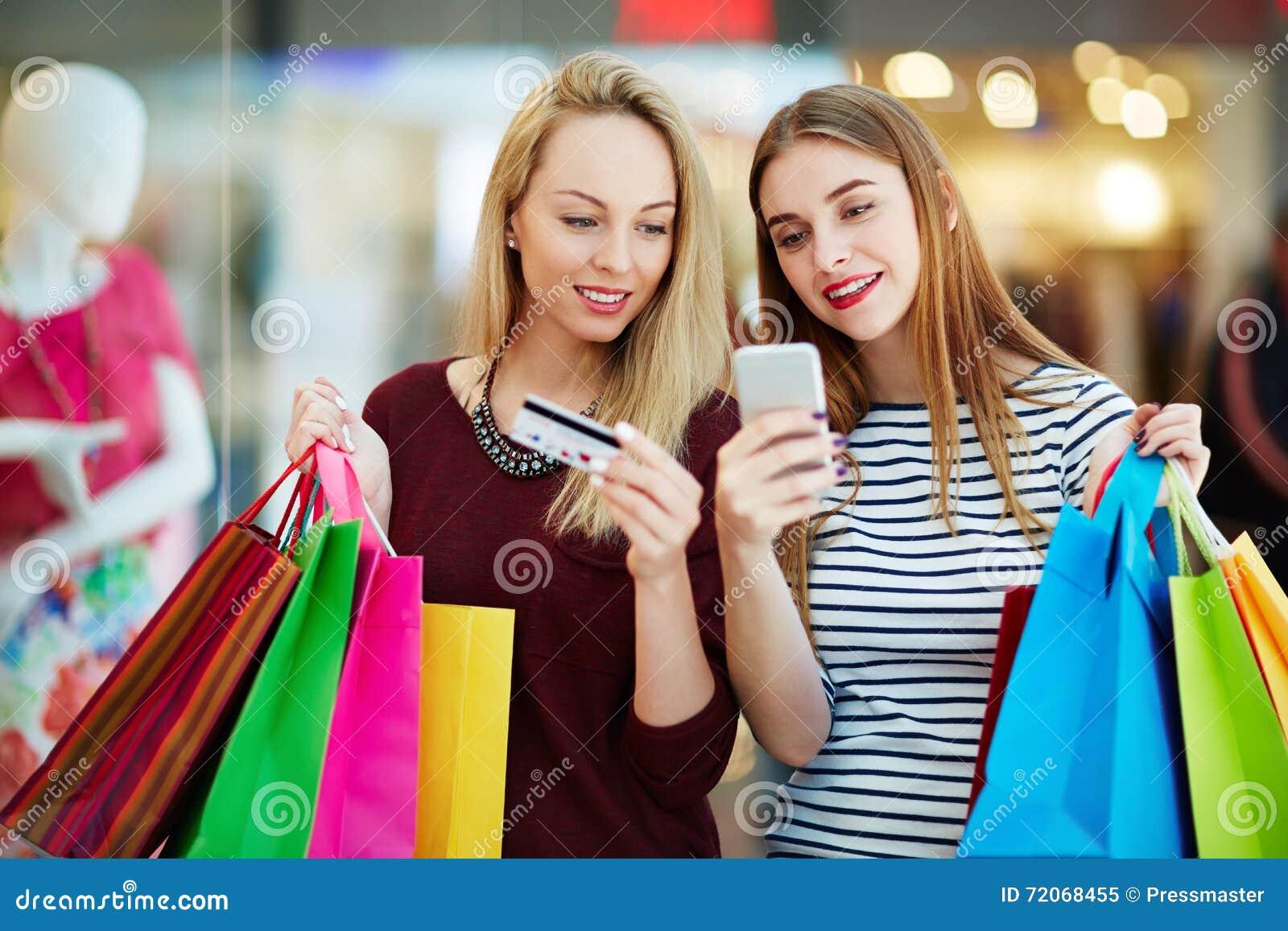 Сообщение во время покупок