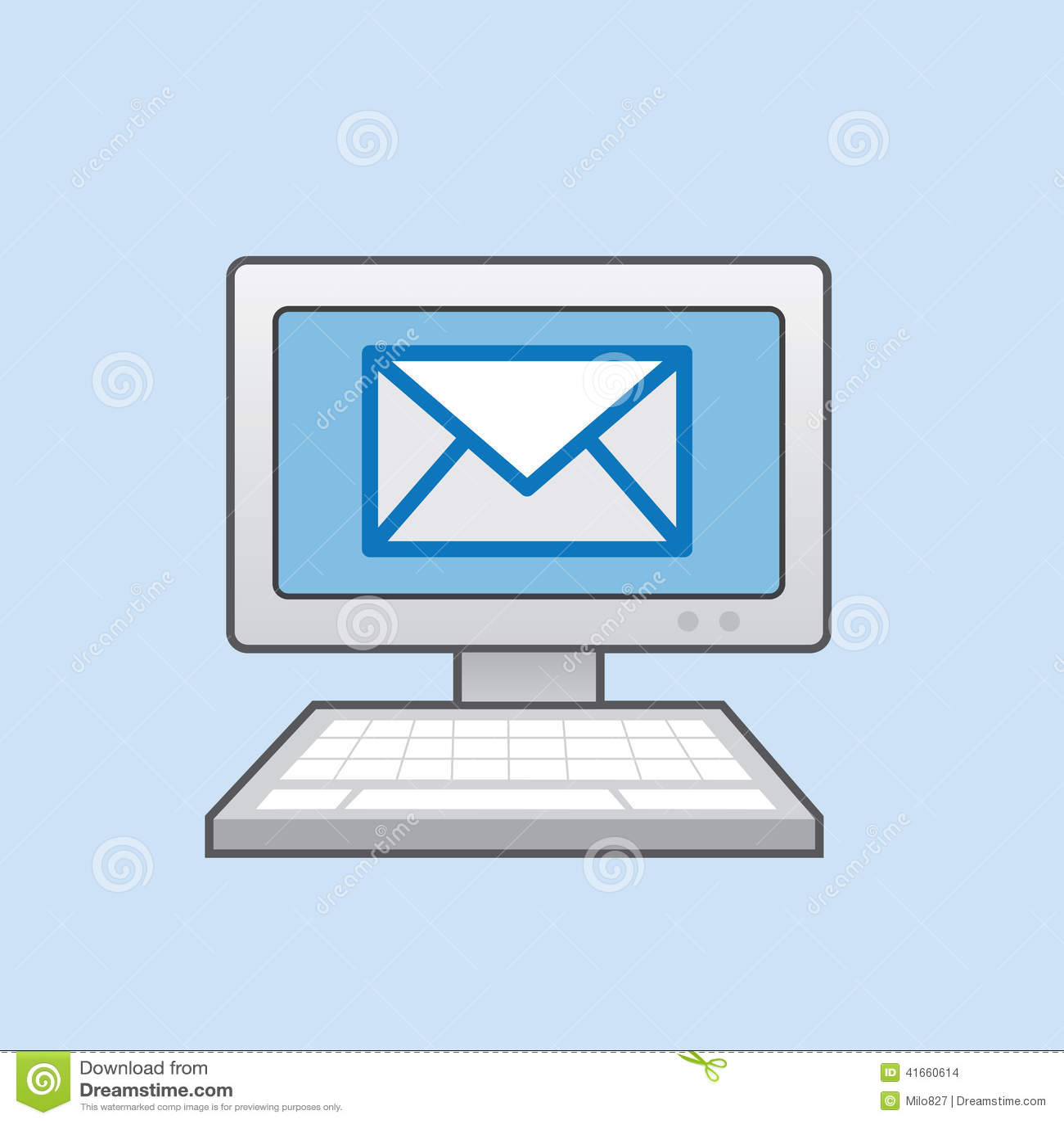 Сообщение почты компьютера