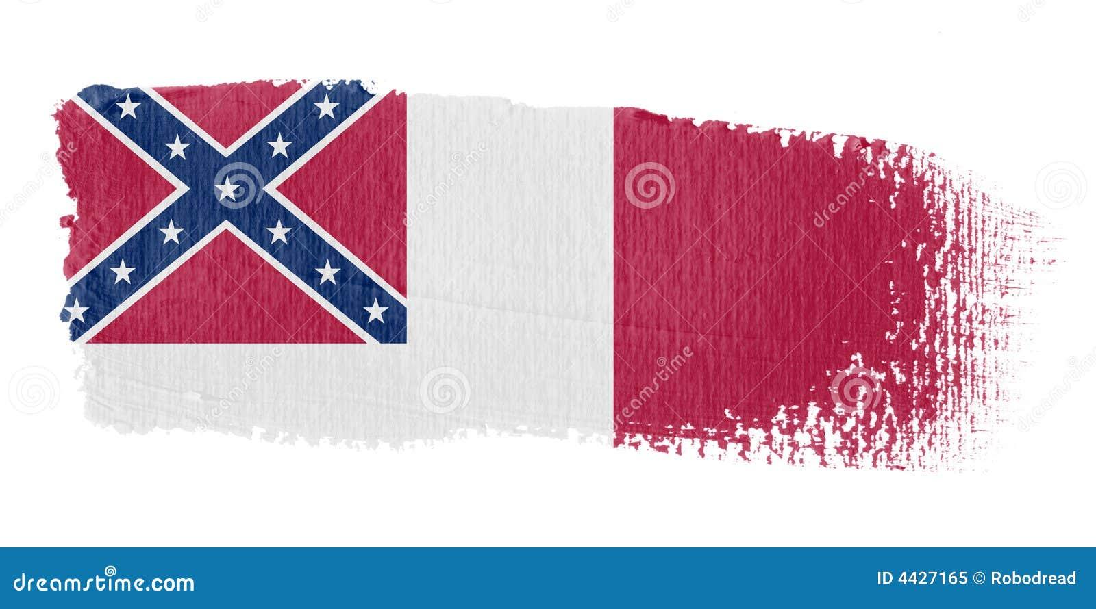 соотечественник флага confederate brushstroke