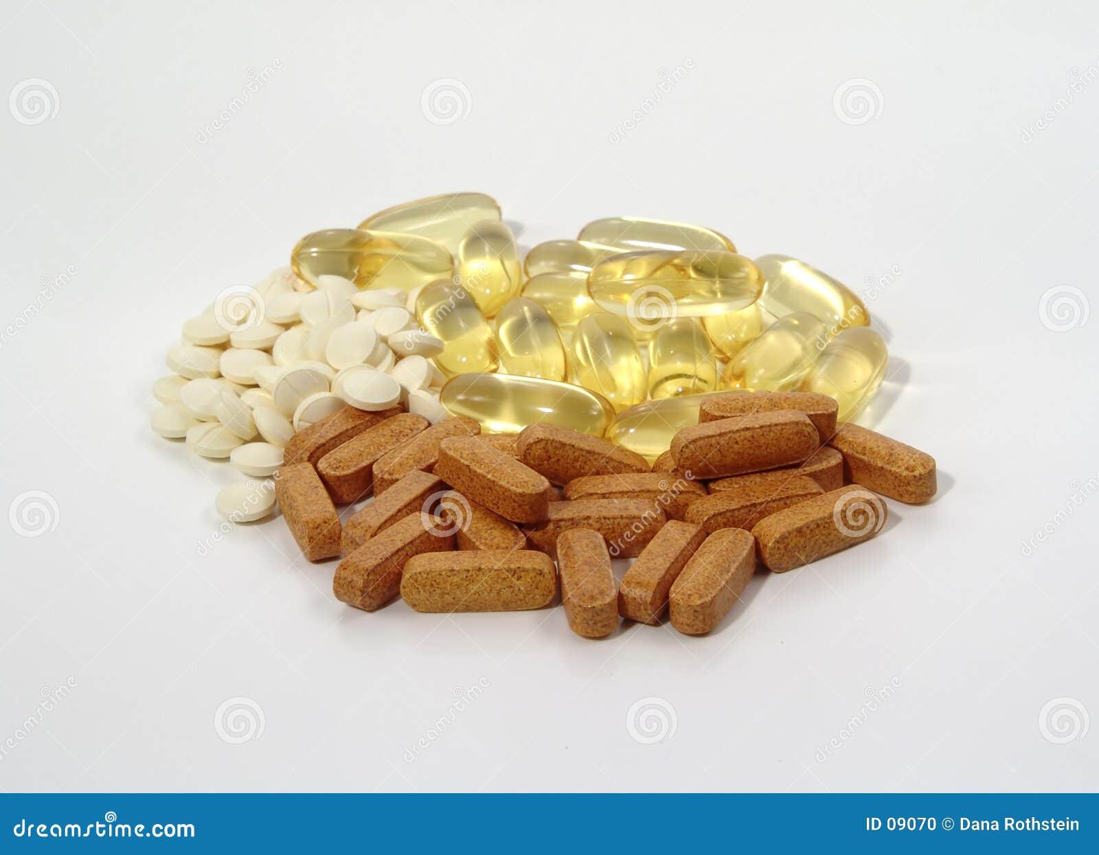 сортированные витамины