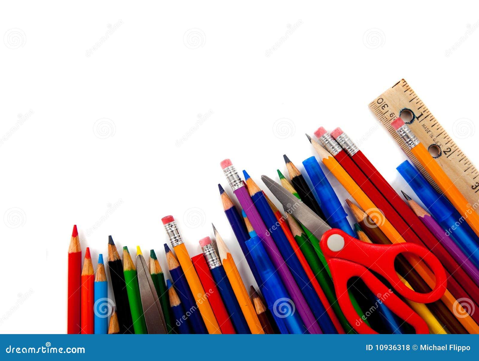 сортированные поставкы школы белые