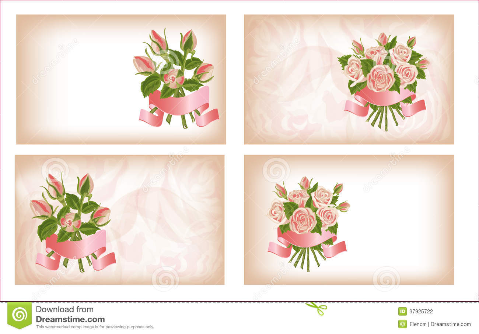 4 состава роз.