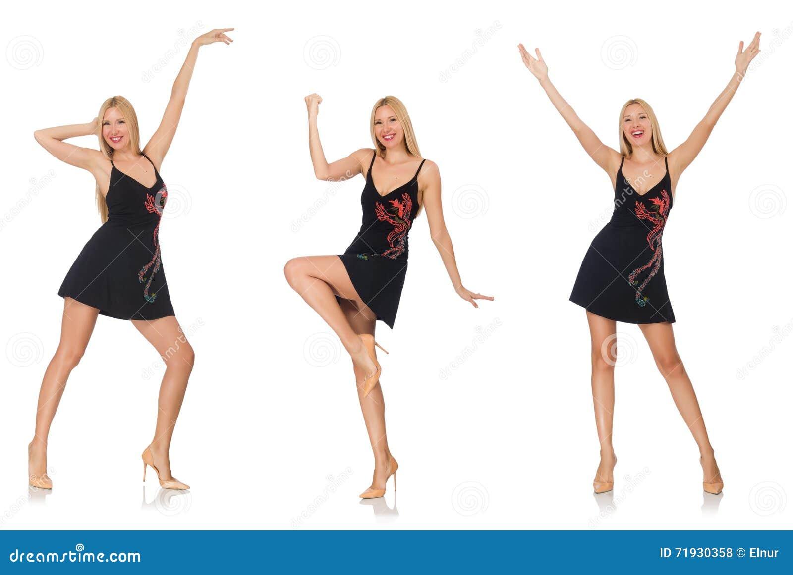 Составное фото женщины в различных представлениях