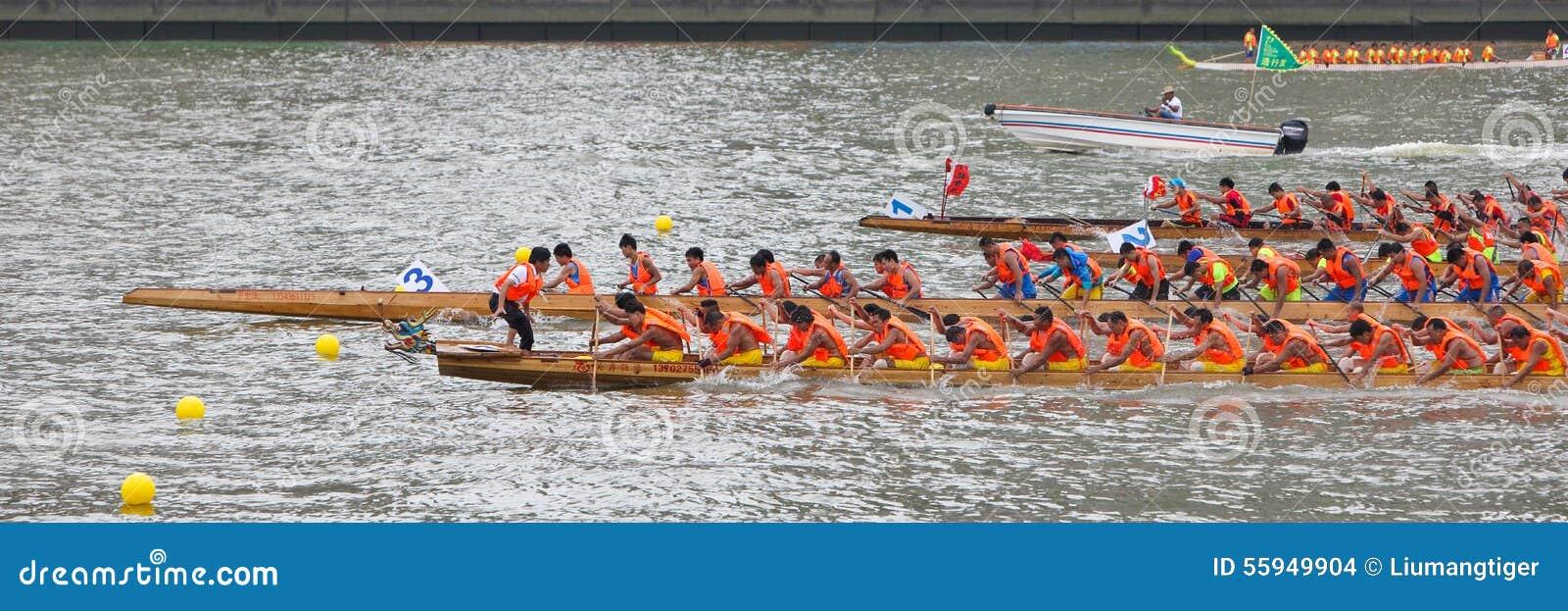 Состязание по гребле 2015 дракона Гуанчжоу международное 4