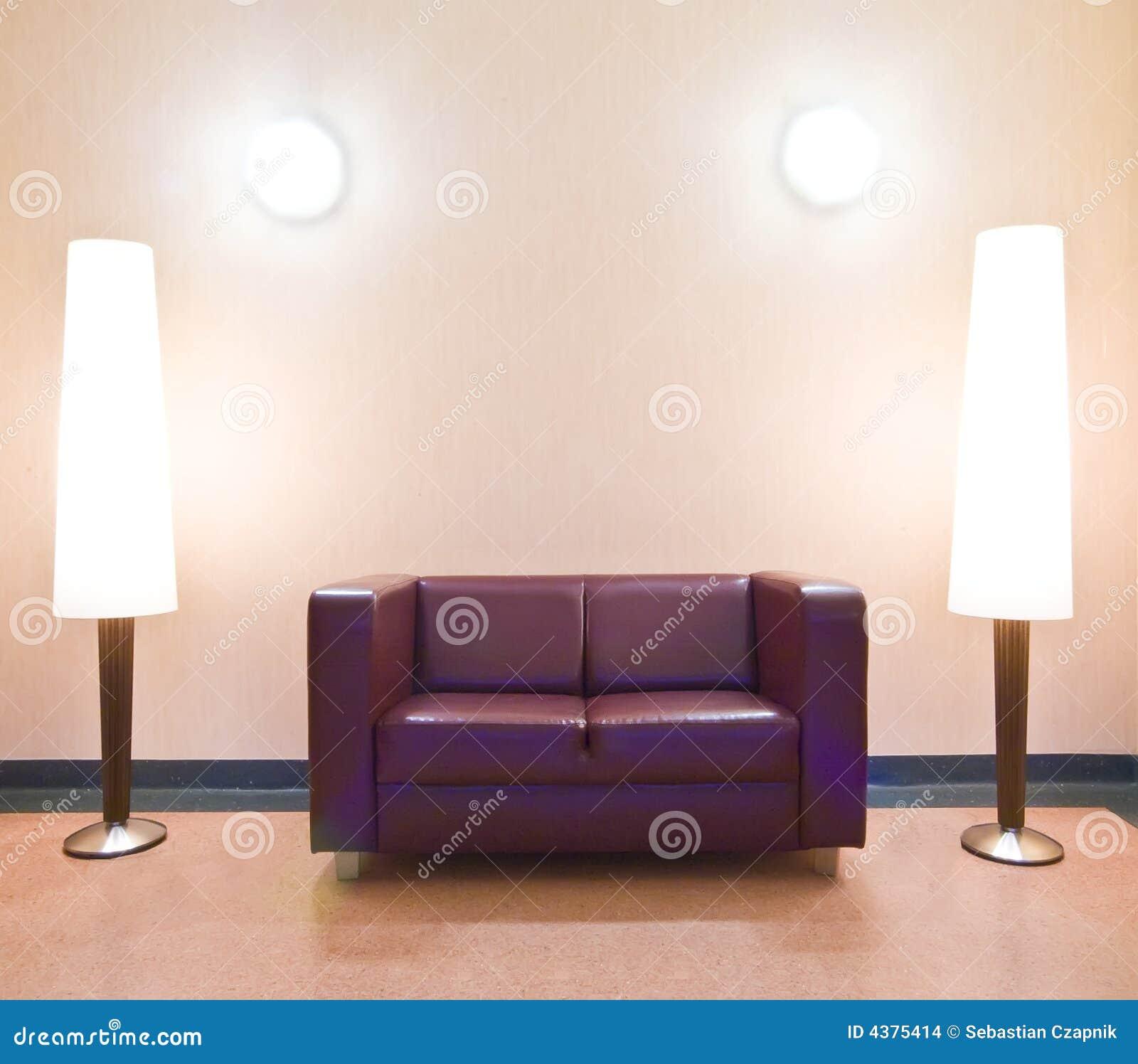 софа светильников пола самомоднейшая
