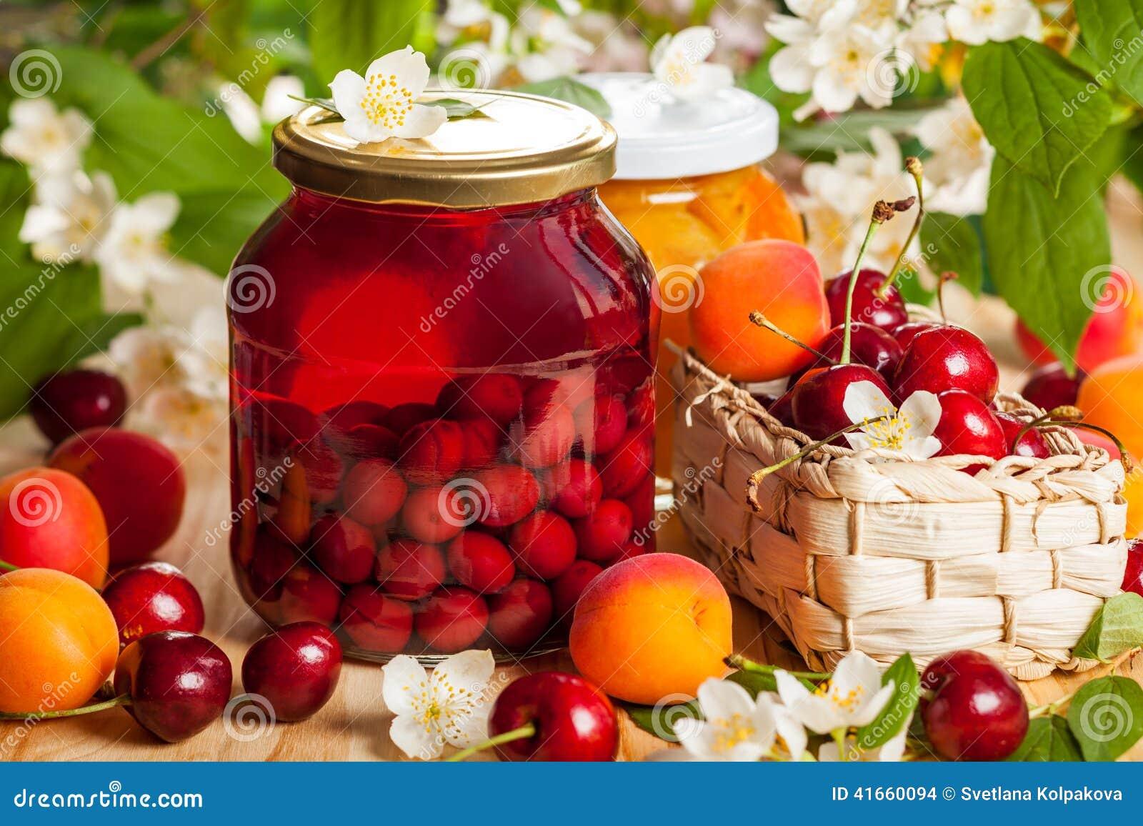Сохраненные плодоовощ и ягоды