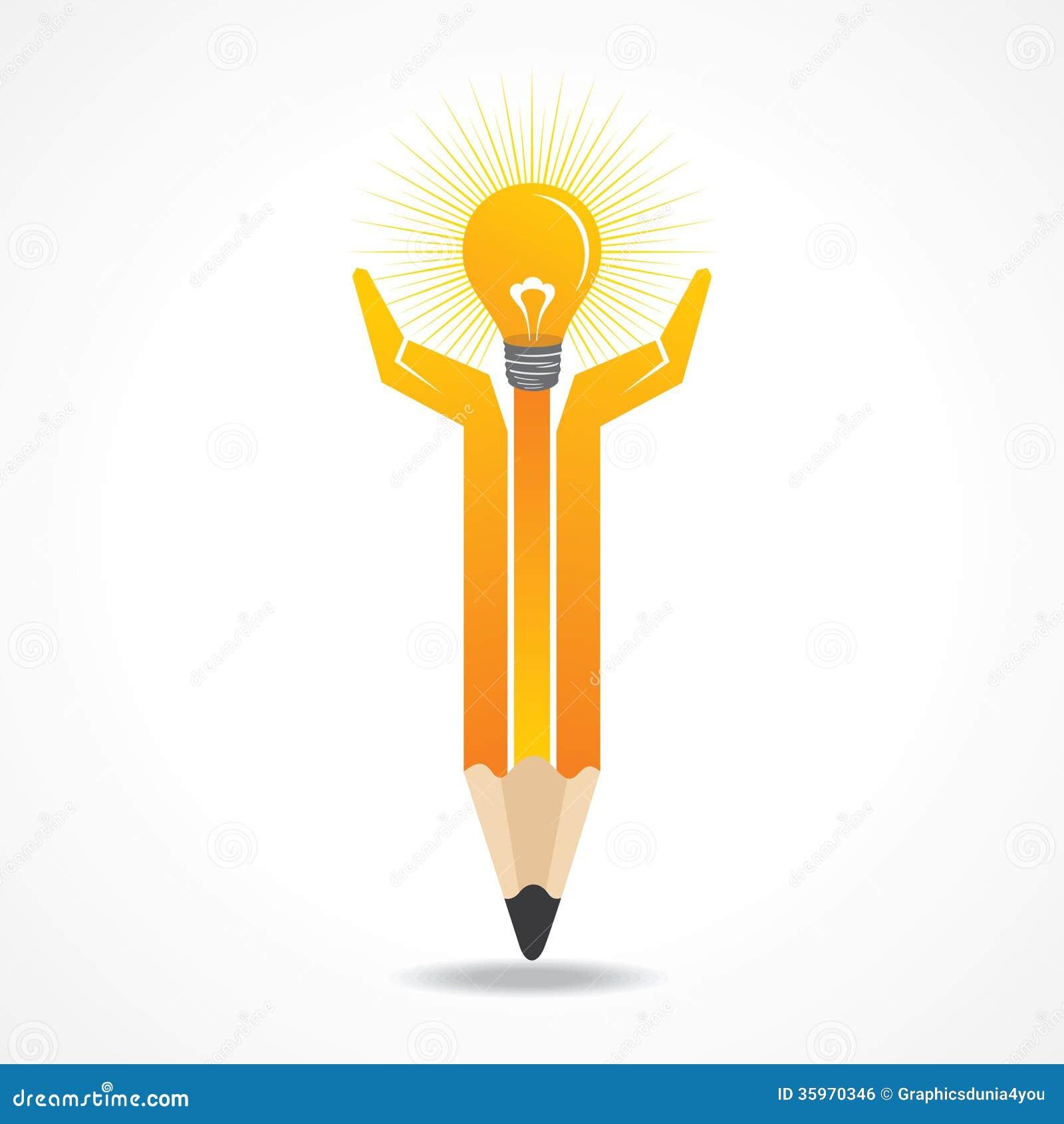 Сохраньте концепцию энергии с руками карандаша