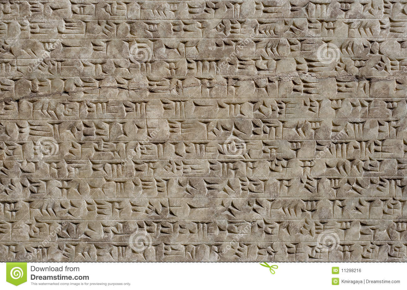 the characteristics of cuneiform writing in ancient sumer The ancient sumerian writing system is known as cuneiform from the latin cuneus (wedge ), because the symbols are wedge-shaped, and marked into clay tablets with.