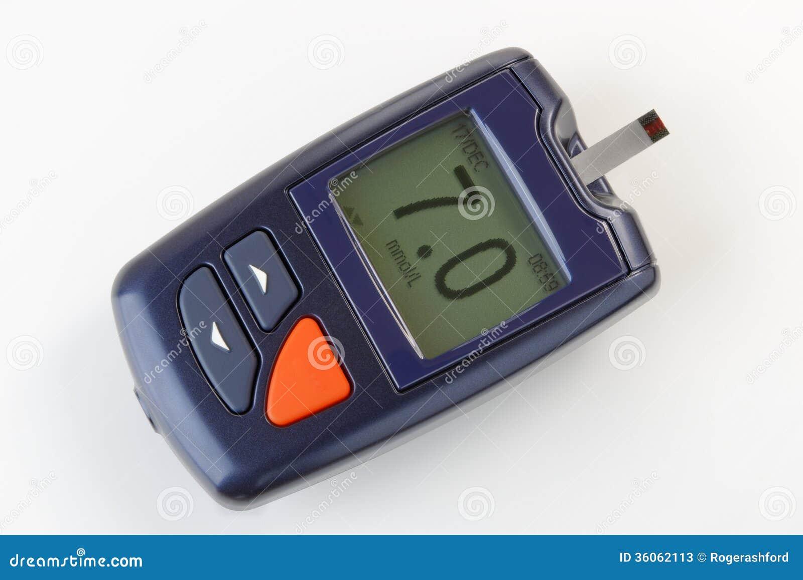 Содержание глюкозы в крови контролируя метр для диабета