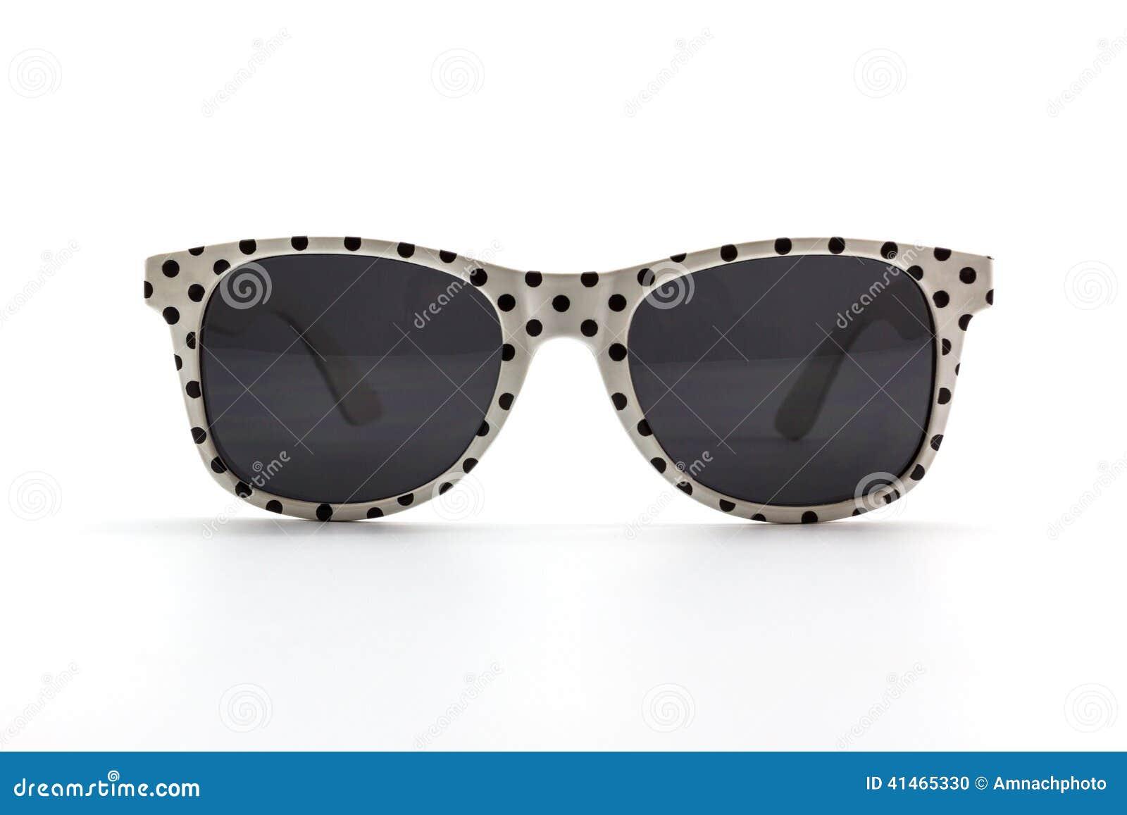Солнечные очки точек польки