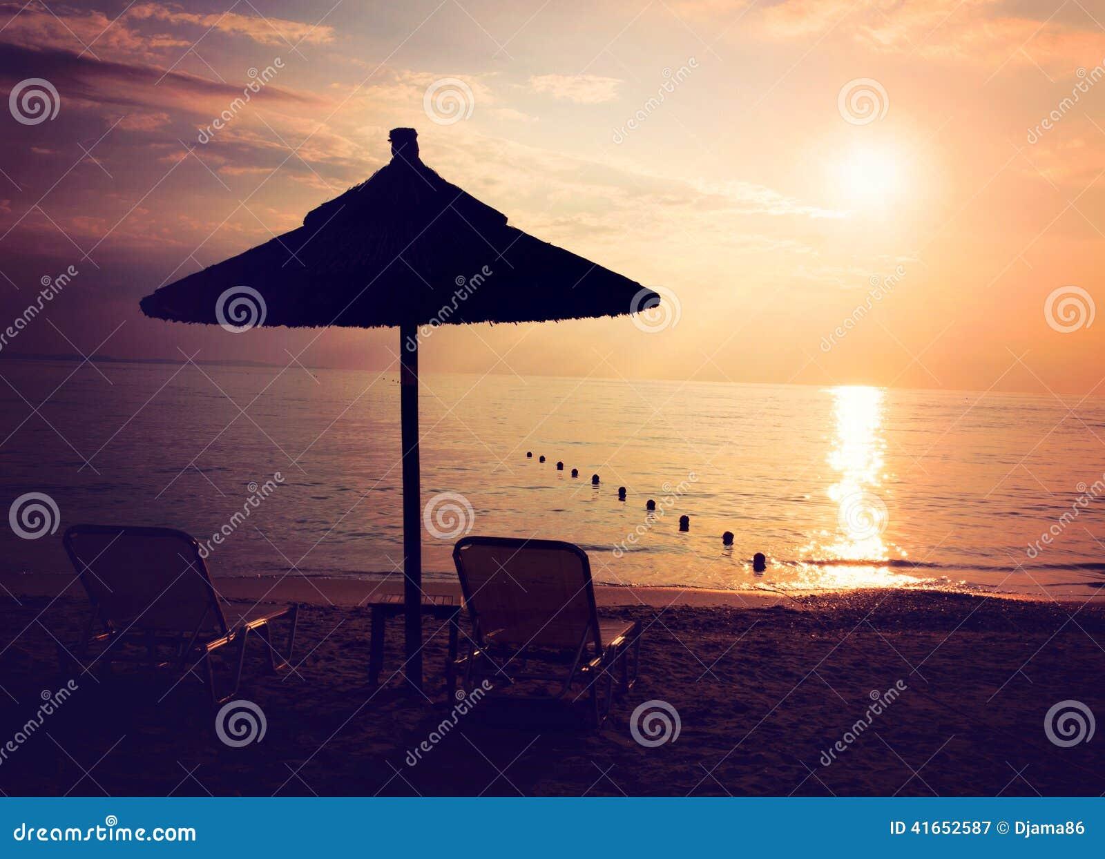 Солнце на пляже