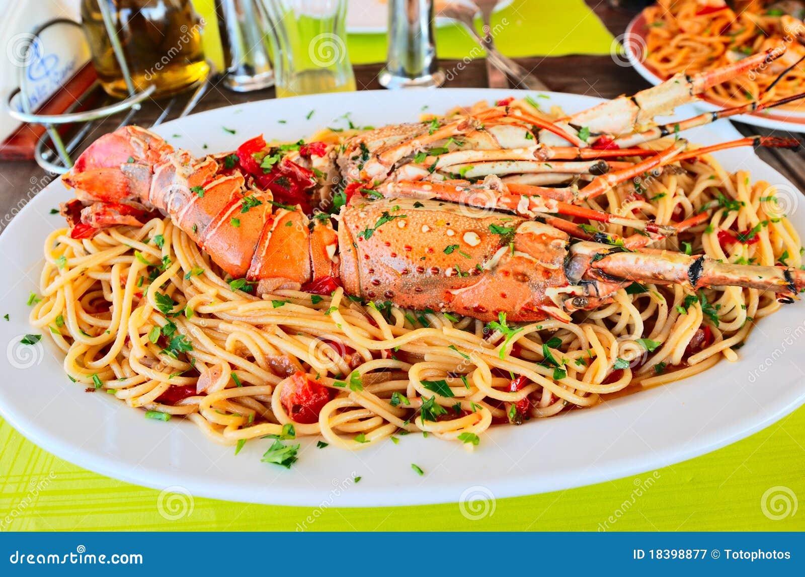 спагетти омара